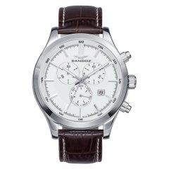 Reloj Cronógrafo Sandoz CASUEL 81381-87 hombre piel