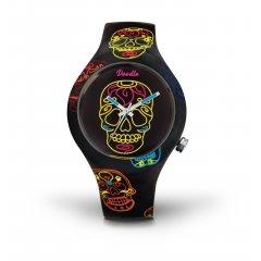 thumbnail Reloj Doodle Skull Mood DOCA001 unisex multicolor