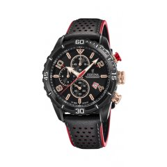 thumbnail Reloj Festina Chrono Bike F20524/1 hombre acero IP rosado