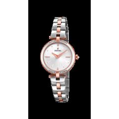 Reloj Festina F20308/2 mujer acero bicolor.