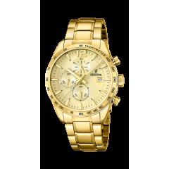 Reloj Festina PRESTIGE F20266/1  Hombre Acero Dorado.
