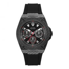 Reloj Guess LEGACY W1048G2 Hombre Acero Fibra Carbono