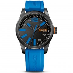 Reloj HUGO BOSS Orange 1513048 Hombre Silicona Negro