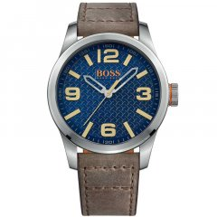 Reloj HUGO BOSS Orange 1513352 Hombre Piel Plateado