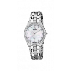 Reloj Jaguar J694/2 mujer acero circonitas.