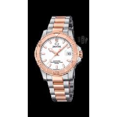 Reloj Jaguar J871/1 mujer acero IP rosa