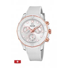Reloj Jaguar Woman J890/1 caucho cronógrafo mujer