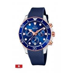 Reloj Jaguar Woman J890/4 caucho cronógrafo mujer