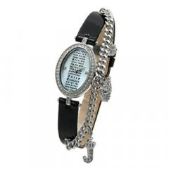 Reloj Juicy Couture 1900191 Mujer Negro Circonitas Cuarzo