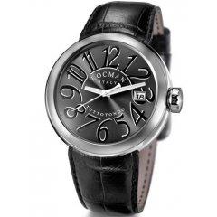 Reloj Locman 341 Hombre Negro Cocodrilo Cuarzo