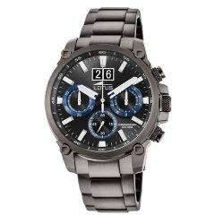 Reloj Lotus Chrono 10140/3 acero negro y azul
