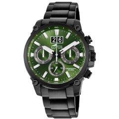Reloj Lotus Chrono 10141/1 acero negro y verde
