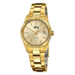 Reloj Lotus Excellent 15824/2 acero mineral lupa