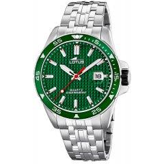 Reloj Lotus Excellent 18641/2 acero hombre verde