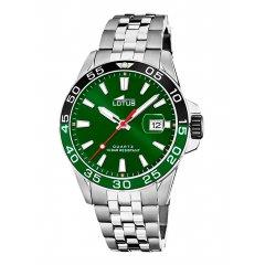 Reloj Lotus Excellent 18766/2 acero hombre verde