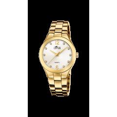Reloj LOTUS TRENDY 18742/2 acero mujer dorado