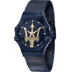 Reloj Maserati Potenza R8853108008 hombre acero azul