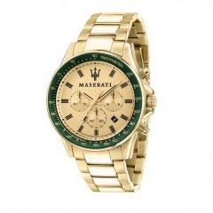 Reloj MASERATI SFIDA R8873640005 Hombre acero Oro