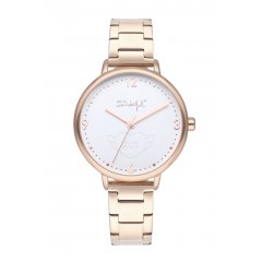 Reloj Mr. Wonderful SHINE AND SMILE WR10000 mujer oro rosa