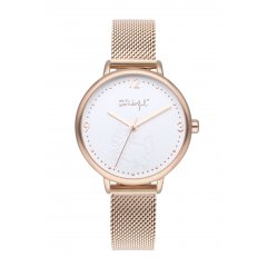 thumbnail Reloj Mr. Wonderful SHINE AND SMILE WR10000 mujer oro rosa
