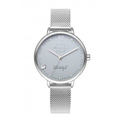 Reloj Mr. Wonderful SHINE AND SMILE WR10200 mujer plateado
