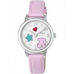 Reloj Muffin TOUS 800350630 niña acero piel rosa