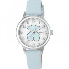 Reloj New Muffin TOUS 000351565 niña acero piel azul