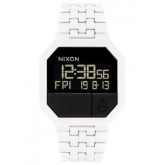 Reloj NIXON A158126 RE-RUN ALL WHITE Hombre Digital Sport