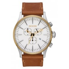 Reloj NIXON Sentry A4052548 hombre blanco