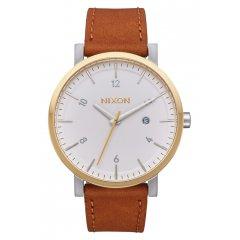 Reloj NIXON The Rollo A9452548 hombre plateado calendario