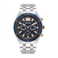 Reloj POLICE KEDIRI DUAL TIME PL.15995JSTBL-61M hombre azul
