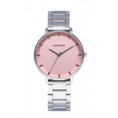 Reloj Radiant AMORE RA546202 Mujer acero plateado