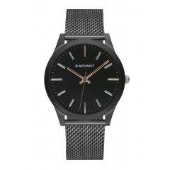 Reloj Radiant LIGHTS&SHADOWS RA553603 Unisex acero malla negro