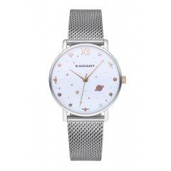 Reloj Radiant MILKY WAY RA545203 Mujer acero malla bicolor