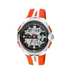 thumbnail Reloj The One Gamma Ray GRR116B3 Hombre Blanco Caucho