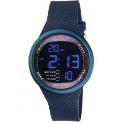 Reloj Radiant RA445601 Hombre Negro Silicona