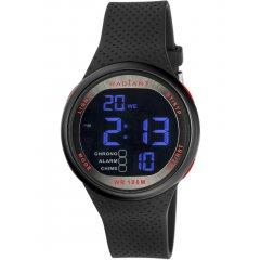 Reloj Radiant RA445602 Hombre Negro Silicona