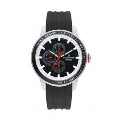 Reloj Radiant RA494702 Hombre Plateado/Gris Silicona