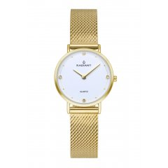 Reloj Radiant RA529601 Mujer acero dorado