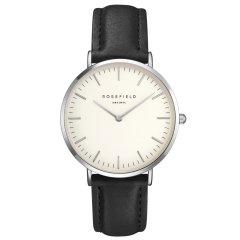 Reloj Rosefield The Bowery BWBLS-B2 unisex blanco