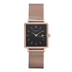 Reloj Rosefield The Boxy QBMR-Q05 Mujer oro rosa