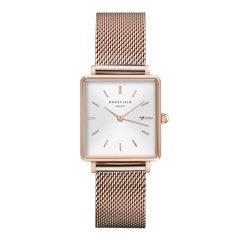 Reloj Rosefield The Boxy QWSR-Q01 mujer blanco