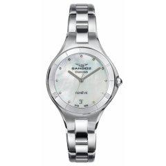 Reloj Sandoz 81370-07 mujer acero plateado