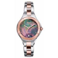 Reloj Sandoz 81370-57 mujer acero IP rosa