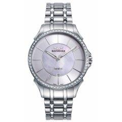 thumbnail Reloj Sandoz 81370-07 mujer acero plateado