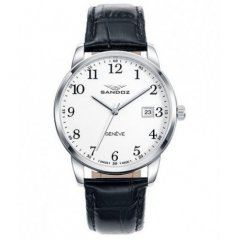 Reloj Sandoz ELEGANT 81437-05 hombre piel blanco