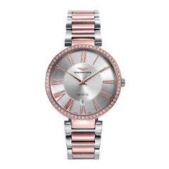 thumbnail Reloj Sandoz 81370-57 mujer acero IP rosa