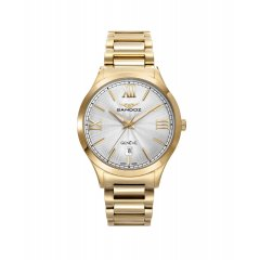 thumbnail Reloj Sandoz 81370-97 mujer acero IP dorado
