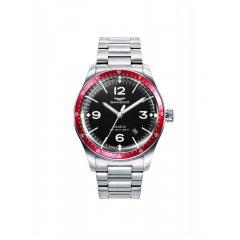 Reloj Sandoz VITESSE 81501-54 hombre acero rojo