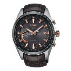 887c24034138 Reloj SEIKO Astron SSE099J1 Hombre Plateado Titanio Crónografo ...